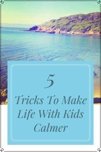 5 Tricks To Make Life With Kids Calmer. Tips To Increase Productivity. Ways To Make Life Calmer.