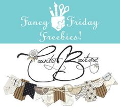 Country Boutique Digital Garland - Free Downloads | Fancy Pants Designs