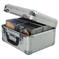 Professional CD Flight Case - Holds 40. View our 96 CD Capacity Aluminium Flight Travel Case. 40 CD Capacity. Aluminium Construction. Lockable / Detachable Lid (2 Keys Supplied). | eBay!