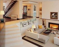 Salon Con Chimenea On Pinterest Fireplaces Modern