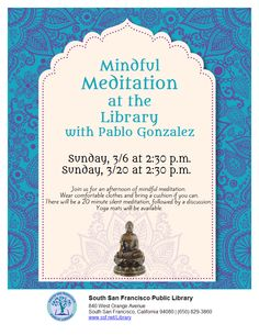 Meditation March Meditation, Bring It On, Mindfulness, March, Consciousness, Mac, Mars, Zen, Awareness Ribbons