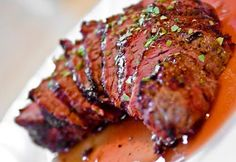AUG 2015 Very Tender; Sauce was ok. Cooking With Clint: Recipe#10 - Flat Iron Steak