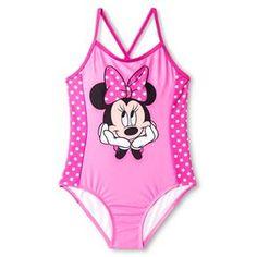 Disney BG 1-PC Swimsuit Ballet Pink