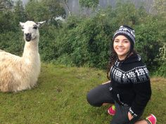Machu Picchu June 2015  Pictures with Llamas