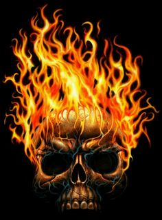The Fire Skull by on DeviantArt Ghost Rider, Word Art, Crane, Totenkopf Tattoos, Skull Wallpaper, Wallpaper Desktop, Airbrush Art, Fire And Ice, Grim Reaper