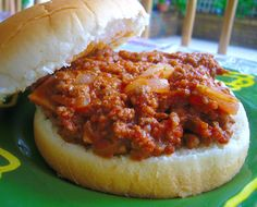 My Family's Favorite Sloppy Joes (Pizza Joes)