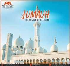 JUMUAH THE MASTER OF ALL DAYS