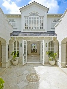 Plantation House Entrance