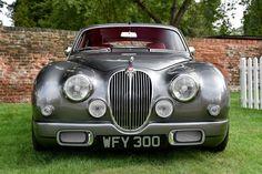 Jaguar Mk 2 customised treatment looks good.