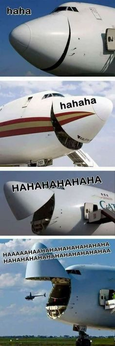 The longer you look the funnier it gets. #aviationhumorlaughing
