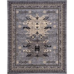 Found it at Wayfair - Valley Gray Area Rug