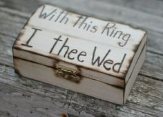 cute ring barrer ideas   cute idea for a ring bearer, instead of a ...   Ideas that I love!