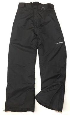 Arctix Snowboarding Ski Pants Insulated Medium Black Water Resistant Adjustable  #Arctix