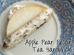Apple Pear Pecan Tea Sandwiches | Kingsburg Orchards