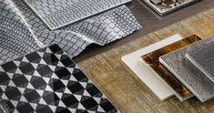 Sicis Mosaic, Glass Panels, Backsplash, Granite, Animal Print Rug, Clear Glass, Rustic, Large Format, Interior Design
