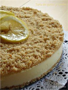 LA COCINA DE MORENISA: Tarta de Limón y Bizcochos