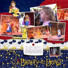 Beauty and the Beast Show - MouseScrappers.com