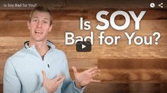 Is soy bad for you? What types of soy are best to consume?