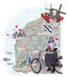 Margriet by Sarah-Lotte Rietdijk, via Behance | www.sarahlotte.com