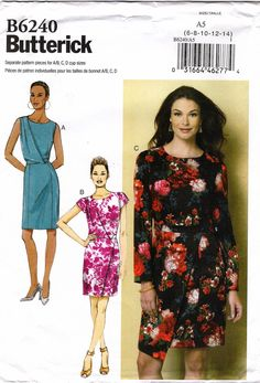 Butterick 6240 Misses' Dress