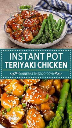 Instant Pot Chicken Thighs Recipe, Rice Instant Pot Recipe, Instant Pot Dinner Recipes, Quick Dinner Recipes, Teriyaki Chicken And Rice, Teriyaki Sauce, Chicken Meal Prep, Best Chicken Recipes, Pressure Cooker Recipes