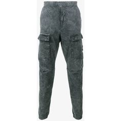 Stone Island Dust Frost Finished Pants (500 CAD) ❤ liked on Polyvore featuring men's fashion, men's clothing, men's pants, men's casual pants, mens cotton pants and men's casual cotton pants