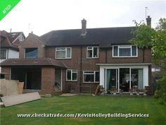 Major House Extension With New Bedroom, Garage And Rear Single Storey  Extension. Single Storey ExtensionRoof IdeasFlat ...