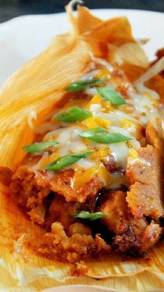 Spicy Chicken Tamales