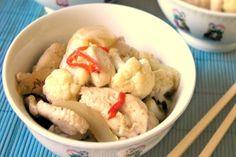 Wietnamski Kurczak z Kalafiorem - Przepis kulinarny