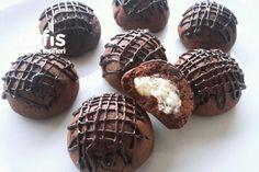 Çikolata Hindistan Cevizi Dolgulu Kurabiye Tarifi