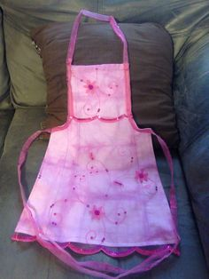 "Adorable handmade ""Princess"" apron. By Upcycled _Diva"