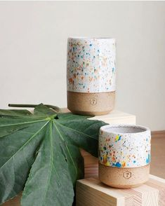These Sprinkles #ceramic #mugs by @willowvane make us happy.
