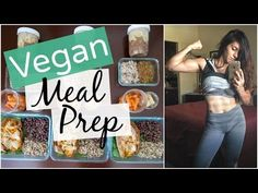 ‍Healthy Vegan Meal Prep Ideas #1 (Female Bodybuilding & Fitness) - YouTube
