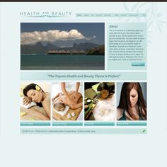 A WordPress theme for yoga instructors, beauty and health spas!