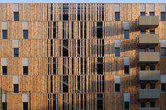 1+1=1 | 56 logements sociaux Lyon / France / 2012 | Rue Royale Architectes