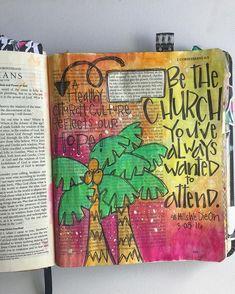 Bible Journaling by Trudy Barker Scripture Study, Bible Art, Bible Verses, Scriptures, Scripture Doodle, Bible Book, Niv Bible, Corinthians Bible, Bible Doodling