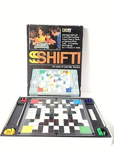 Title: Shifti. Theme: Strategy. Year: 1977. Game board, dice and movers great condition. | eBay!