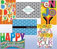 10 different designs of birthday general 60th Birthday Cards, Birthday Greeting Cards, Birthday Greetings, It's Your Birthday, Birthday Wishes, Happy Birthday, Wholesale Greeting Cards, Thank You Greeting Cards, Christmas Greeting Cards