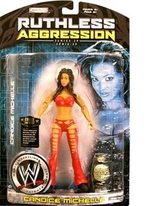 WWE Wrestling Ruthless Aggression Series 29 Action Figure Candice Michelle * Learn more by visiting the image link.