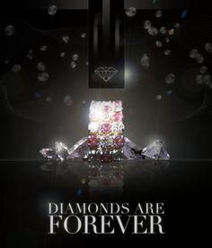 Design a Sleek Diamond Poster Advert