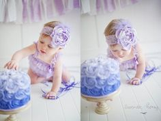 50% OFF SALE Baby Infant Newborn Girl Singed by amandalynneLUXE