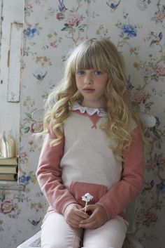 Cashmere is used extensively in the Marie Chantal kids collection for boys and girls.