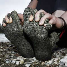 Kevlar socks. Good for barefoot running or walking. But...pricey though.