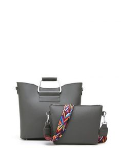 GET $50 NOW | Join RoseGal: Get YOUR $50 NOW!http://www.rosegal.com/tote/metal-handle-colored-shoulder-strap-931238.html?seid=2275071rg931238