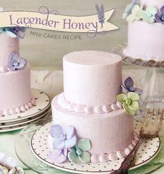 Lavender Honey Mini Cakes Recipe