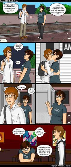Questionable Content (webcomic) - LOVE!