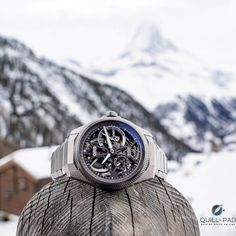 The mechanical diva on the stage of the oris big crown propilot x calibre 115 movement is the big kahuna itself: the extremely large mainspring visi Watch News, Barrels, 10 Days, Omega Watch, Diva, Stage, Clock, Luxury, Spring