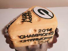 Green Bay Packers 'cheesecake'