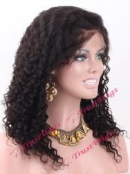 Water Wave Glueless Full Lace Wig GL24