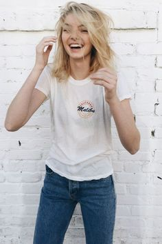 Brandy ♥ Melville | Margie Malibu Locals Top - Graphics